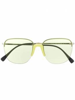 Prada Eyewear солнцезащитные очки в квадратной оправе 0PS53US38134857