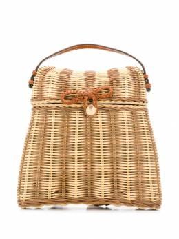 Ulla Johnson плетеный рюкзак PF191105