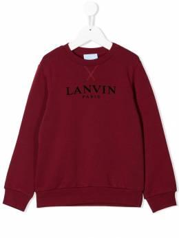 Lanvin Enfant толстовка с логотипом 4L4090LX080
