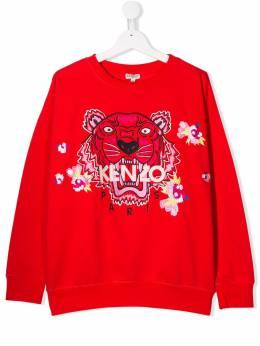 Kenzo Kids толстовка Tiger KP1512838