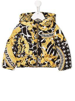 Young Versace пуховик с принтом YB000079YA00275