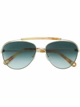 Chloe Eyewear солнцезащитные очки-авиаторы CE141S