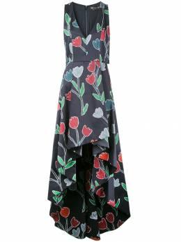 Alice+Olivia - длинное платье 'Beckie ' 65058569996865500000