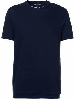 Neil Barrett футболка 'Live And Let Live ' PBJT269BF535S