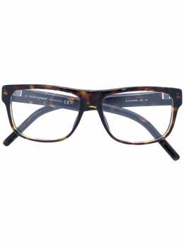 Dior Eyewear очки с квадратной оправой BLACKTIE190