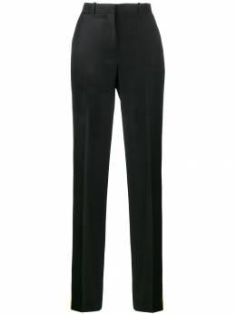 Givenchy - брюки строгого кроя с желтыми лампасами 56909069093350000000