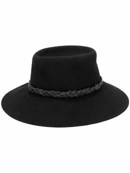 Giorgio Armani Pre-Owned шляпа федора в стиле 1980-х ARM190C