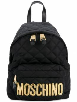 Moschino - medium quilted backpack 68806993969653000000
