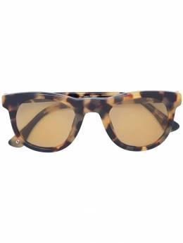 Linda Farrow солнцезащитные очки в квадратной оправе с черепаховым эффектом DVN133C10SUN