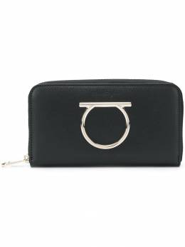 Salvatore Ferragamo Gancini zip around wallet 69113822D291