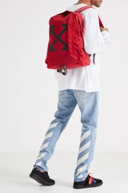 Красный рюкзак со стрелками Easy Off-White 2202144030