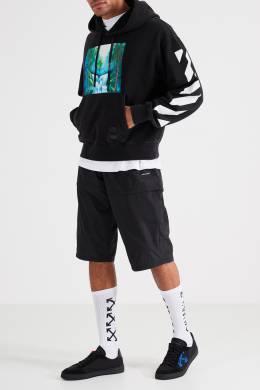 Высокие белые носки с логотипом Off-White 2202144129