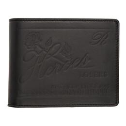 Raf Simons Black Heroes Ring Wallet 192287M16400501GB