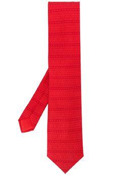 Hermès Pre-Owned галстук 2000-х годов с узором HERMES150F