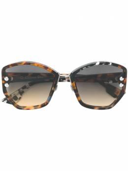 Dior Eyewear большие солнцезащитные очки DIORADDICT2