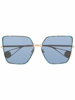 Gucci Eyewear массивные солнцезащитные очки GG0436S