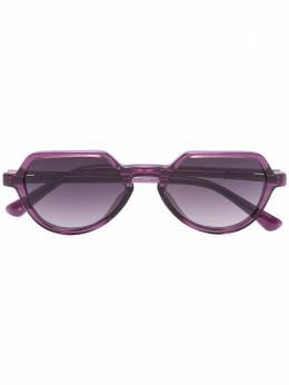 Linda Farrow солнцезащитные очки 183C3 из коллаборации с DVN DVN183C3SUN