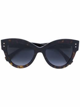 Fendi Eyewear солнцезащитные очки 'Peekaboo' FF0266S