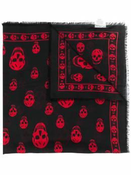 Alexander McQueen шарф с принтом Skull 5577174943Q