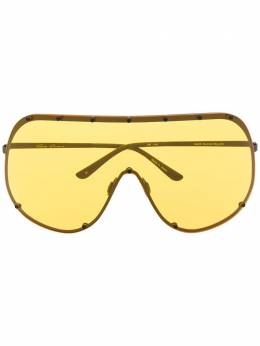 Rick Owens - солнцезащитные очки Larry 9F6595GBLKY959633590