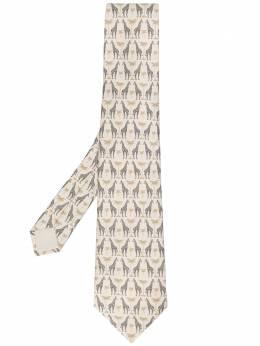 Hermès Pre-Owned галстук 2000-х годов с принтом HERM180F