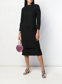 A.N.G.E.L.O. Vintage Cult - многослойное платье 1960-х годов с кружевными оборками E3869595569300000000