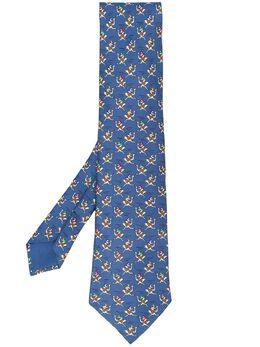 Hermès Pre-Owned галстук 2000-х годов с принтом HERM180AI