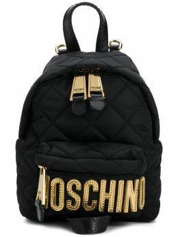 Moschino - small quilted backpack 69806993969659000000