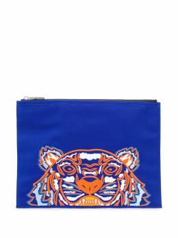 Kenzo клатч с вышивкой Tiger F855PM302F20
