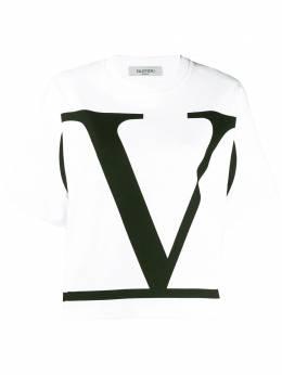 Valentino - футболка с принтом VLogo MG69Y5Q9959633300000