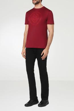 Красная футболка с логотипом Billionaire 1668144655