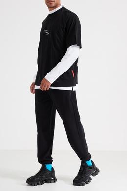 Черные спортивные брюки Marcelo Burlon County Of Milan 29144644