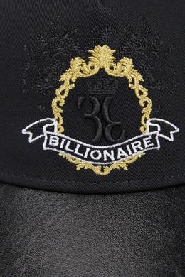 Черная комбинированная кепка Billionaire 1668144676