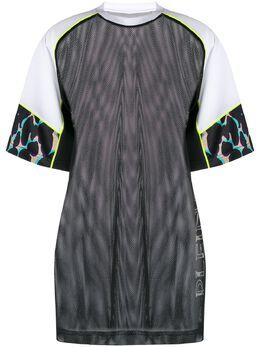 Plein Sport сетчатая футболка оверсайз A19CWTK1873STE003N