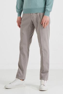 Серые брюки со стрелками Brunello Cucinelli 1675134707