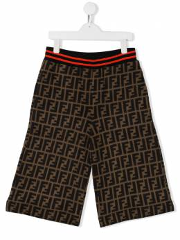 Fendi Kids - шорты с логотипом FF 008A8L59533960500000