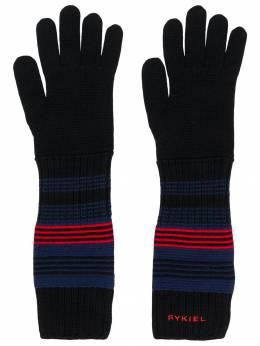 Sonia Rykiel полосатые перчатки 538327039