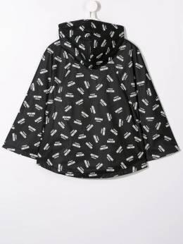 Moschino Kids непромокаемая куртка с логотипом HDS02RL3B20