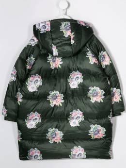 Stella McCartney Kids - пальто-пуховик с цветочным принтом 853SNK95953508880000