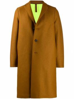 Harris Wharf London - однобортное пальто миди 09MLKY95365533000000