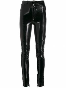 Philipp Plein - байкерские брюки с завышенной талией CWRT6533PTE995N95653