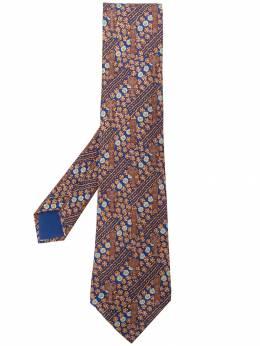 Hermès Pre-Owned галстук 2000-х годов с принтом HERME150K
