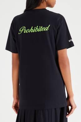 Черная футболка с надписью «Стиль» Heron Preston 2771145124