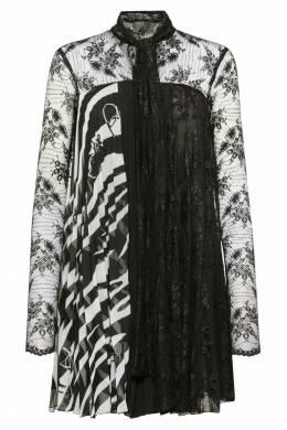 Комбинированное платье-мини Philipp Plein 1795145005