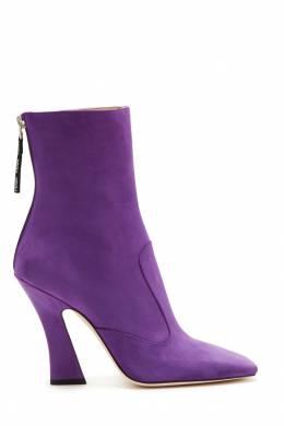 Фиолетовые ботильоны Fendi 1632145567