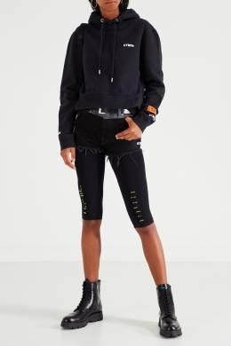 Черное худи с карманом Heron Preston 2771145131