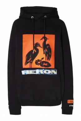 Худи с птицами и надписью Heron Heron Preston 2771145118