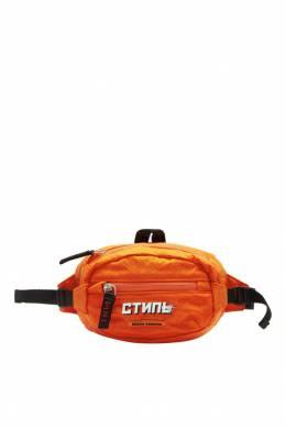 Оранжевая поясная сумка Heron Preston 2771145138