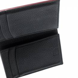Montblanc Black Leather Business Card Holder 212680