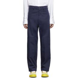 Jacquemus Navy Le Pantalon Peintre Trousers 192553M19101705GB